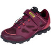 Mavic Echappée Trail Elite Shoes Women fig/hibiscus/black